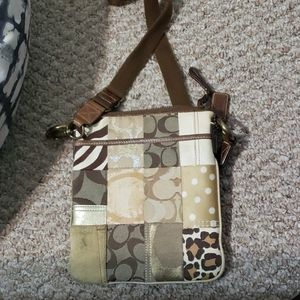 Coach Patchwork Crossbody Purse